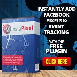 Instantly add Facebook Pixels and Event Tracking with this Free Plugin